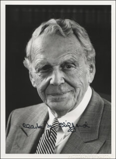 Autographs: CLARK M. CLIFFORD - PHOTOGRAPH SIGNED