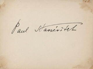 PAUL STASSEVITCH - AUTOGRAPH