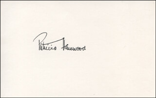PATRICIA (COUNTESS OF HAREWOOD) LASCELLES - AUTOGRAPH