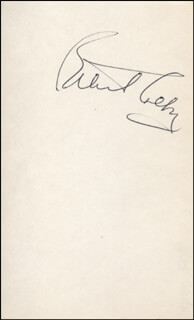 ANITA COLBY - AUTOGRAPH