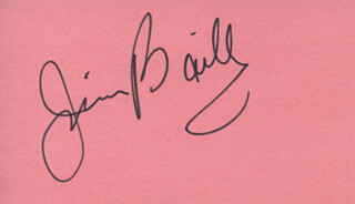 JIM BAILEY - AUTOGRAPH