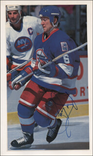 PHIL HOUSLEY - MAGAZINE PHOTOGRAPH SIGNED