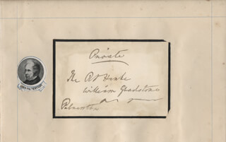 Autographs: PRIME MINISTER HENRY JOHN (VISCOUNT PALMERSTON III) TEMPLE (GREAT BRITAIN) - AUTOGRAPH ENVELOPE SIGNED