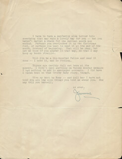 JAMES JIMMIE FIDLER - TYPED LETTER SIGNED