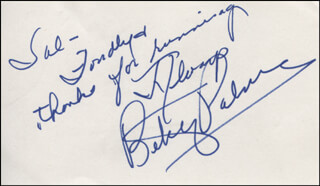 BETSY PALMER - AUTOGRAPH NOTE SIGNED