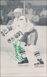 Autographs: THOMMY ABRAHAMSSON - MAGAZINE PHOTOGRAPH SIGNED