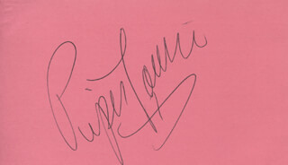 PIPER LAURIE - AUTOGRAPH