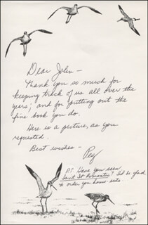 PEG MURRAY - AUTOGRAPH LETTER SIGNED