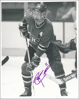 RYAN WALTER - AUTOGRAPHED SIGNED PHOTOGRAPH