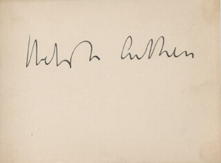Autographs: WEBSTER AITKEN - SIGNATURE(S)