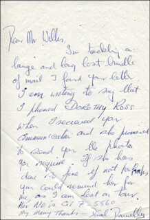 DONAL DONNELLY - AUTOGRAPH LETTER SIGNED