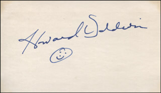Autographs: HOWARD BALDWIN - SIGNATURE(S)
