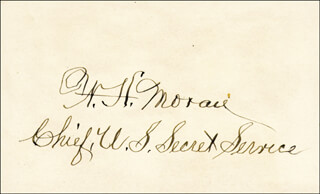 WILLIAM H. MORAN - AUTOGRAPH