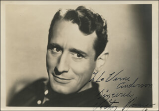 VICTOR JORY - AUTOGRAPHED INSCRIBED PHOTOGRAPH