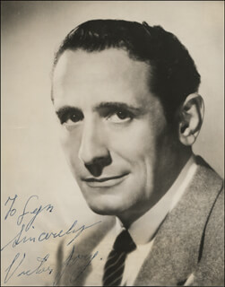 Autographs: VICTOR JORY - INSCRIBED PHOTOGRAPH SIGNED