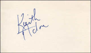 KEITH ACTON - AUTOGRAPH  - HFSID 319935