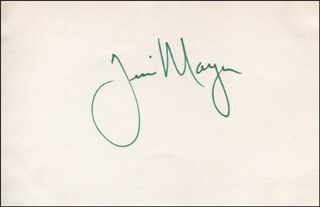 JIM MAYER - AUTOGRAPH