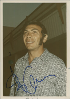 ED AMES - AUTOGRAPHED SIGNED PHOTOGRAPH 1971