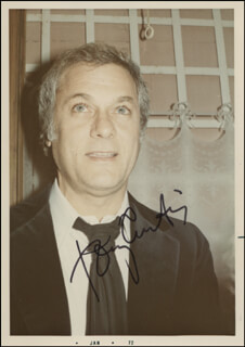 TONY CURTIS - AUTOGRAPHED SIGNED PHOTOGRAPH CIRCA 1972