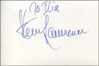 STEVE LAWRENCE - AUTOGRAPHED INSCRIBED PHOTOGRAPH
