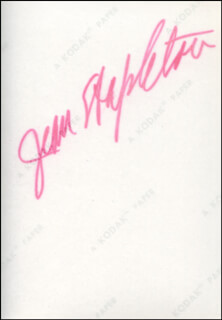 JEAN STAPLETON - AUTOGRAPHED SIGNED PHOTOGRAPH