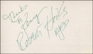 ROBERT HOOKS - AUTOGRAPH NOTE SIGNED