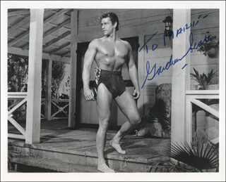 GORDON SCOTT - AUTOGRAPHED INSCRIBED PHOTOGRAPH