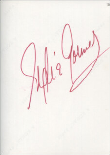 EYDIE GORME - AUTOGRAPHED SIGNED PHOTOGRAPH CIRCA 1971