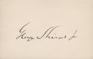 ASSOCIATE JUSTICE GEORGE SHIRAS JR. - AUTOGRAPH 12/13/1892