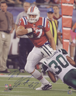 ROB GRONK GRONKOWSKI - AUTOGRAPHED SIGNED PHOTOGRAPH