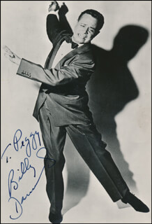 BILLY DANIELS - AUTOGRAPHED INSCRIBED PHOTOGRAPH