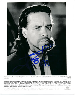 ICE-T - AUTOGRAPHED SIGNED PHOTOGRAPH 1998