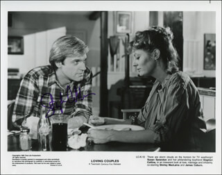 STEPHEN COLLINS - AUTOGRAPHED SIGNED PHOTOGRAPH