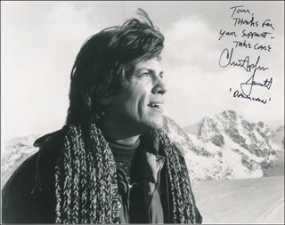 CHRISTOPHER JARRETT - AUTOGRAPHED INSCRIBED PHOTOGRAPH