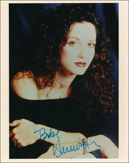 BEBE NEUWIRTH - AUTOGRAPHED SIGNED PHOTOGRAPH
