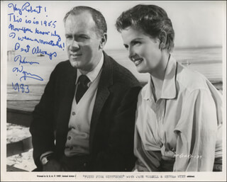 KEENAN WYNN - AUTOGRAPH NOTE ON PHOTOGRAPH SIGNED 1983