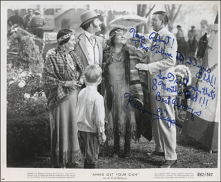 KEENAN WYNN - AUTOGRAPH NOTE ON PHOTOGRAPH SIGNED