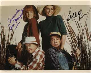 GRUMPIER OLD MEN MOVIE CAST - AUTOGRAPHED SIGNED PHOTOGRAPH CO-SIGNED BY: ANN-MARGRET, SOPHIA LOREN