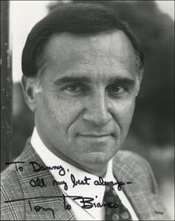 TONY LO BIANCO - AUTOGRAPHED INSCRIBED PHOTOGRAPH