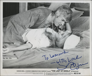 JAMES COBURN - AUTOGRAPHED INSCRIBED PHOTOGRAPH