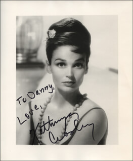 KATHRYN GRANT CROSBY - AUTOGRAPHED INSCRIBED PHOTOGRAPH