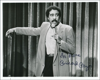 RICHARD PRYOR - AUTOGRAPHED INSCRIBED PHOTOGRAPH