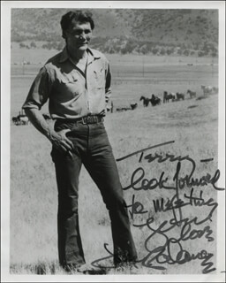 JACK PALANCE - AUTOGRAPHED INSCRIBED PHOTOGRAPH