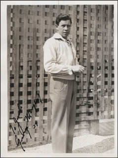 GEORGE MURPHY - AUTOGRAPHED INSCRIBED PHOTOGRAPH 1939