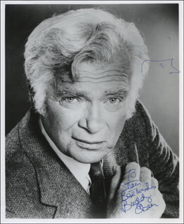 BUDDY EBSEN - AUTOGRAPHED INSCRIBED PHOTOGRAPH