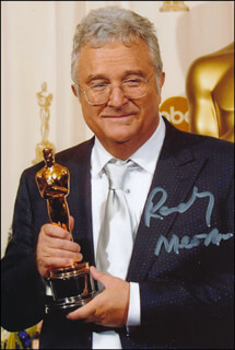 RANDY NEWMAN - AUTOGRAPHED SIGNED PHOTOGRAPH