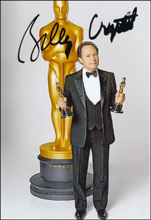 BILLY CRYSTAL - AUTOGRAPHED SIGNED PHOTOGRAPH