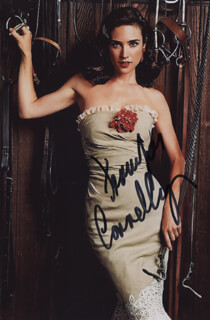 JENNIFER CONNELLY - AUTOGRAPHED SIGNED PHOTOGRAPH