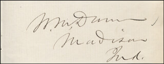 WILLIAM MCKEE DUNN - AUTOGRAPH