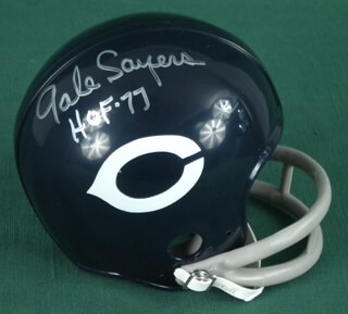 GALE SAYERS - EPHEMERA SIGNED